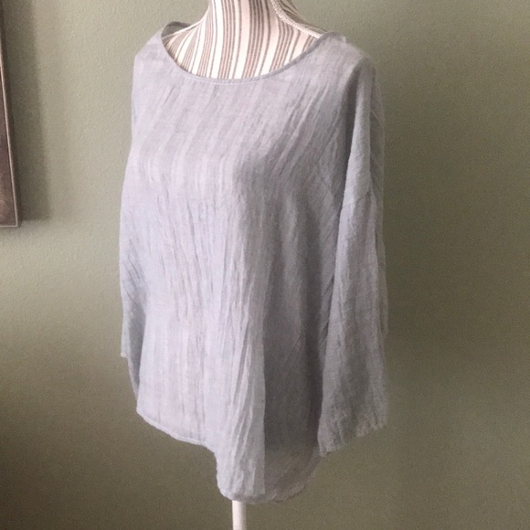 dylan Tops - Worn once, Dylan Gauze Blouse Gray